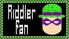 DC Comics Riddler Fan Stamp by dA--bogeyman