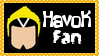 Marvel Comics Havok Fan Stamp by dA--bogeyman