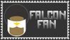 Marvel Comics Falcon Fan Stamp
