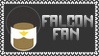 Marvel Comics Falcon Fan Stamp by dA--bogeyman