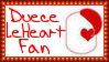 Custom OC Duece Le'Heart Fan Stamp by dA--bogeyman