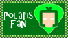 Marvel Comics Polaris Fan Stamp