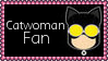 DC Comics Catwoman Fan Stamp