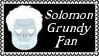 DC Comics Solomon Grundy Fan Stamp by dA--bogeyman