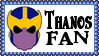 Marvel Comics Thanos Fan Stamp by dA--bogeyman