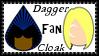 Marvel Comics Cloak + Dagger Fan Stamp by dA--bogeyman