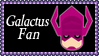 Marvel Comics Galactus Fan Stamp by dA--bogeyman