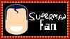 DC Comics Superman Fan Stamp by dA--bogeyman
