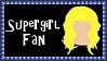 DC Comics Supergirl Fan Stamp