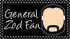 DC Comics General Zod Fan Stamp by dA--bogeyman