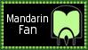 Marvel Comics Mandarin Fan Stamp by dA--bogeyman