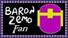 Marvel Comics Baron Zemo Fan Stamp