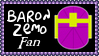 Marvel Comics Baron Zemo Fan Stamp by dA--bogeyman