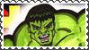 Marvel Cover Art Hulk Stamp