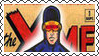 Marvel Cover Art Cyclops Stamp by dA--bogeyman