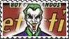 DC Cover Art Joker Stamp by dA--bogeyman