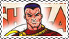 DC Cover Art Shazam! Stamp by dA--bogeyman