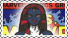 Marvel Cover Art Mystique Stamp by dA--bogeyman