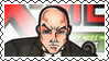 Marvel Cover Art Professor X Stamp by dA--bogeyman