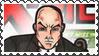 Marvel Cover Art Professor X Stamp by dA--bogeyman