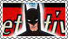DC Cover Art Batman Stamp