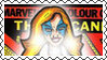 Marvel Cover Art Dazzler Stamp by dA--bogeyman