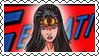 DC Cover Art Wonder Woman Stamp