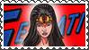 DC Cover Art Wonder Woman Stamp by dA--bogeyman
