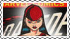 Marvel Cover Art Elektra Stamp by dA--bogeyman
