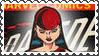 Marvel Cover Art Elektra Stamp by dA--bogeyman