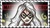 Marvel Cover Art Black Cat Stamp by dA--bogeyman