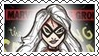 Marvel Cover Art Black Cat Stamp