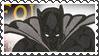 Marvel Cover Art Black Panther Stamp