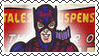 Marvel Cover Art Hawkeye Stamp by dA--bogeyman