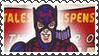 Marvel Cover Art Hawkeye Stamp by dA--bogeyman