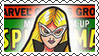 Marvel Cover Art Mockingbird Stamp by dA--bogeyman
