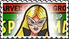 Marvel Cover Art Mockingbird Stamp