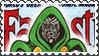 Marvel Cover Art Doctor Doom Stamp by dA--bogeyman