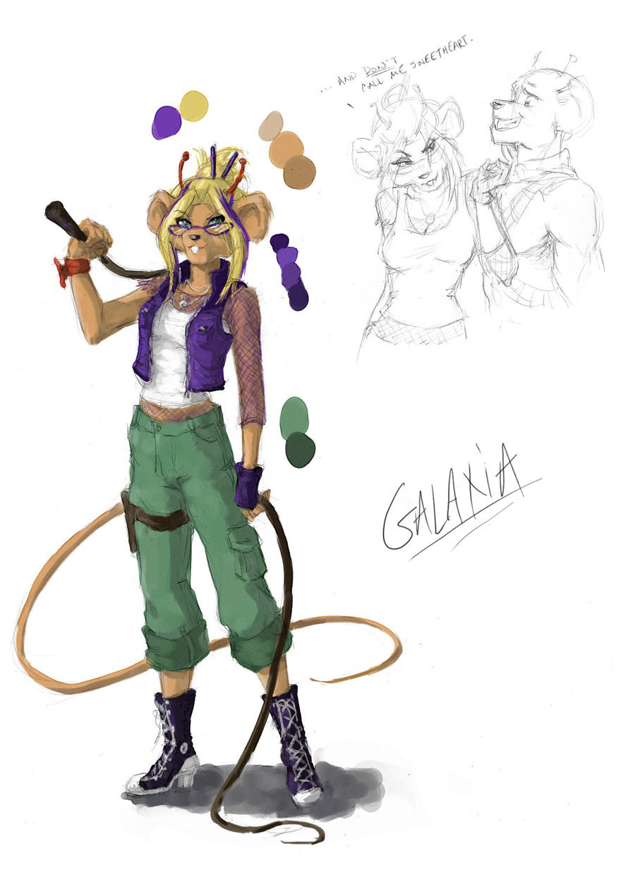 Biker Mice Galaxia by QueenGalaxia on DeviantArt
