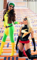Avengers vs X-Men: Round 3 by JeanneKilljoy