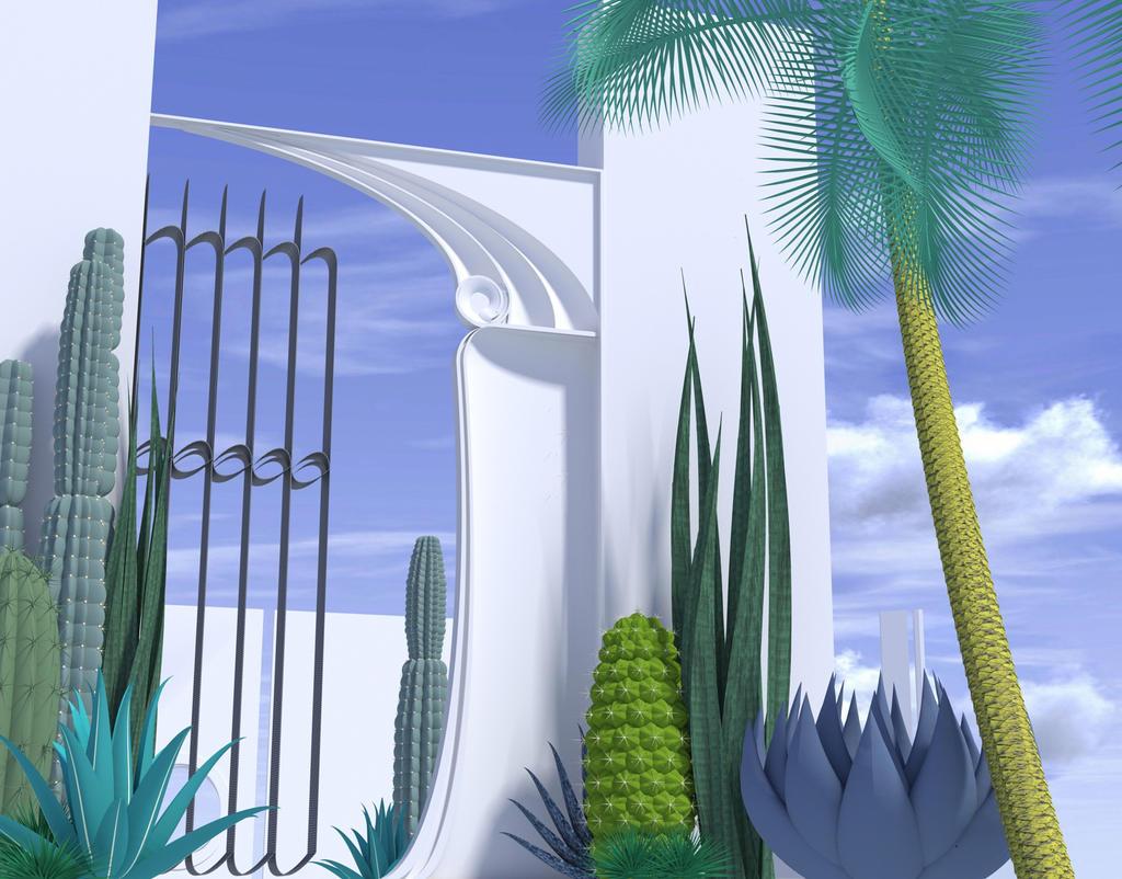 cactus garden by plasmid1