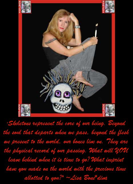 ACE0/ACEO XR (on eBay) Founder Lisa Luree aka Bone*diva