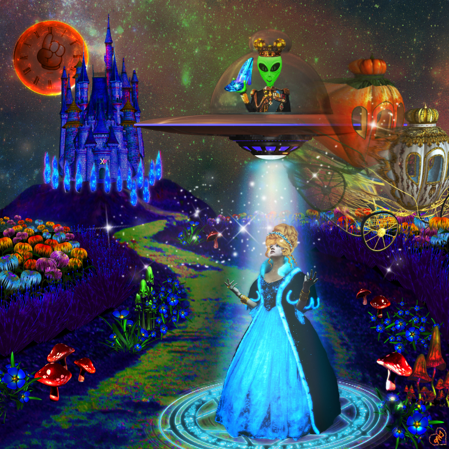 Abducted Fairy Tales - Cinderella Edition
