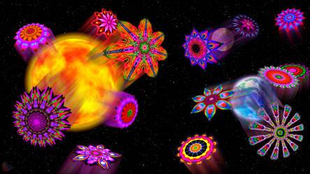 Cosmic Blooming