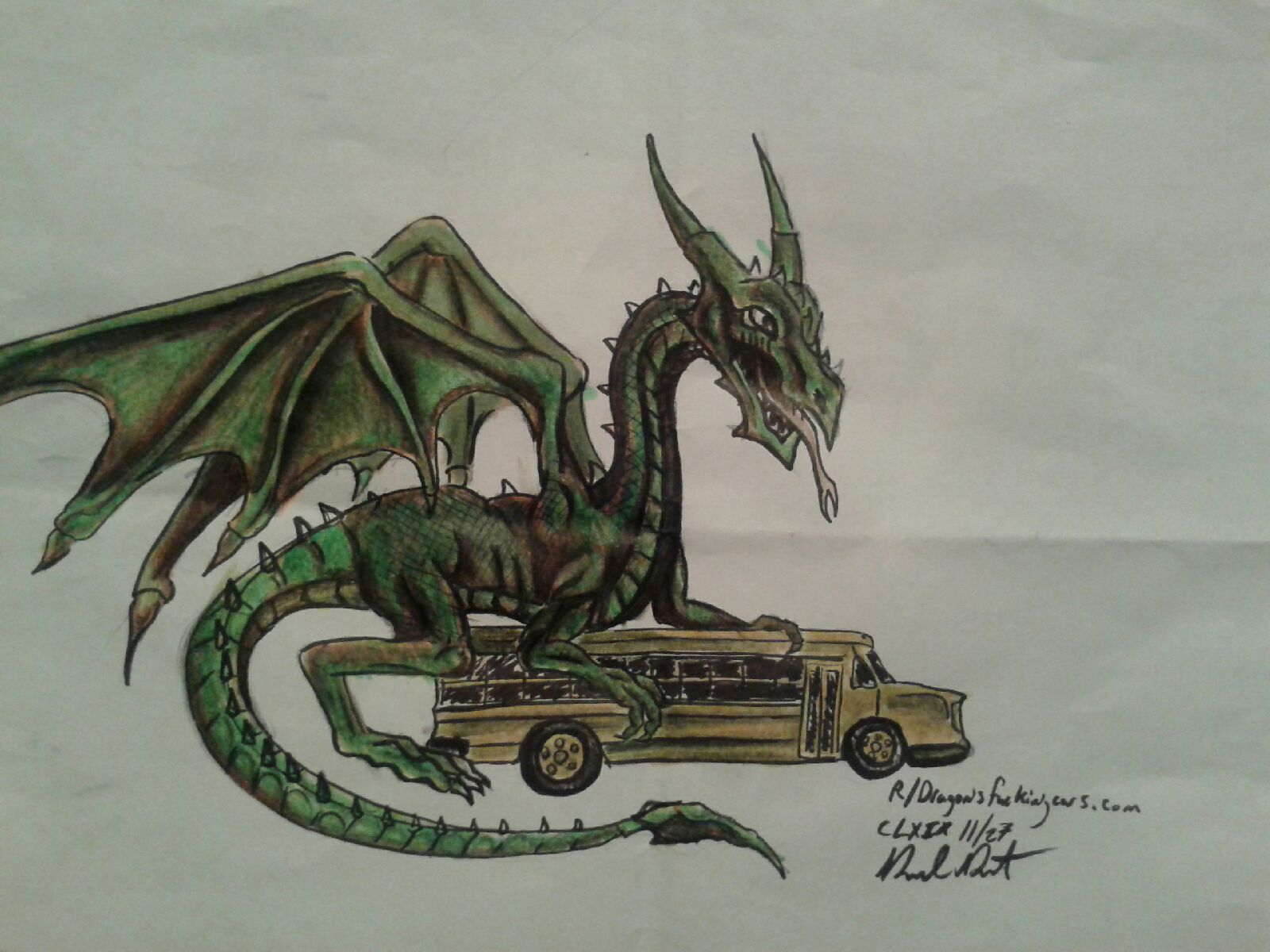 Dragon Car 11/27 by danieldenta169