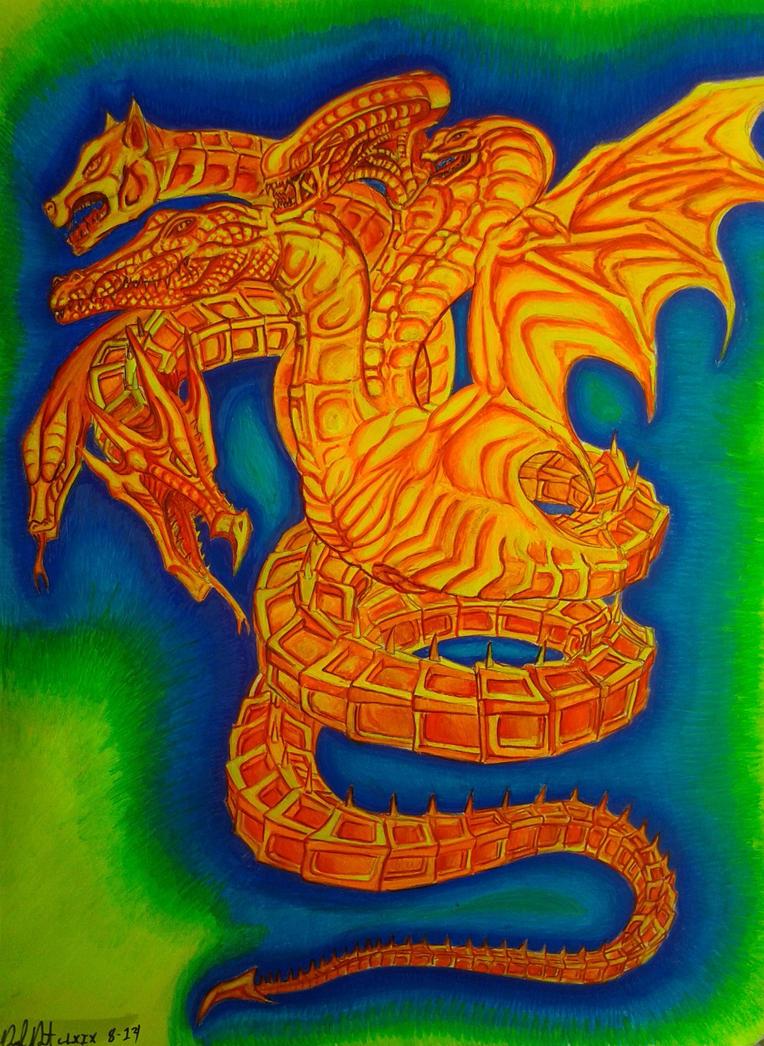 Solar serpent by danieldenta169