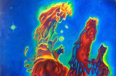 Pillars of creation by danieldenta169