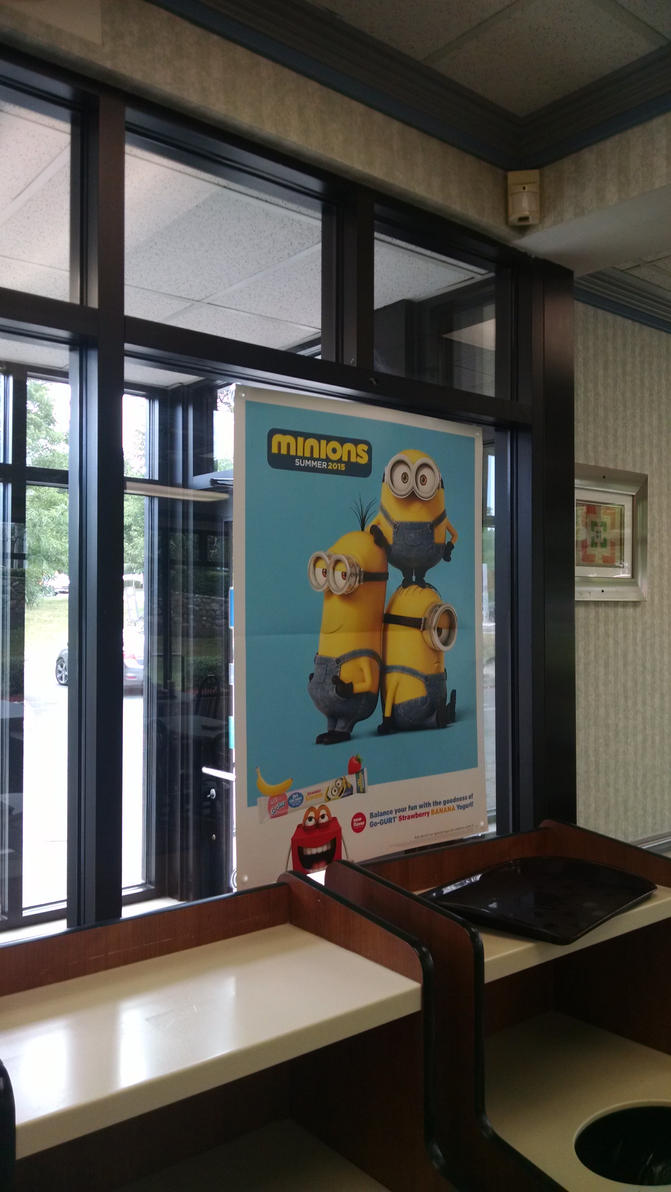 Minions at McDonald's Again by hot293wildcat