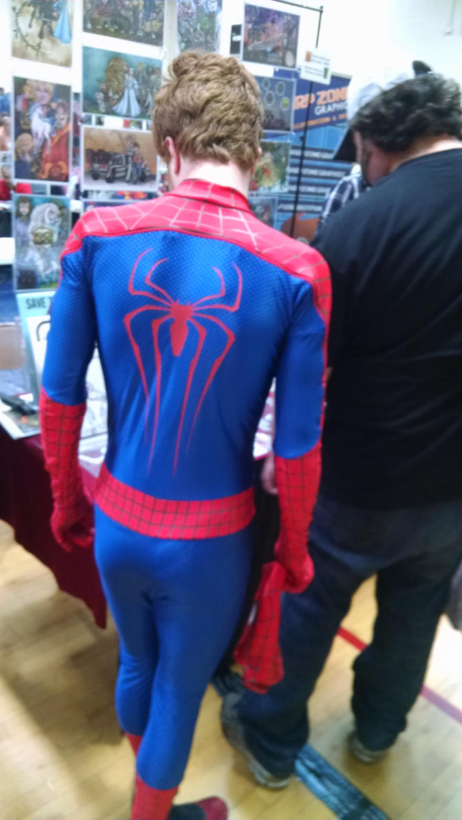Spider-Man without his mask by hot293wildcat