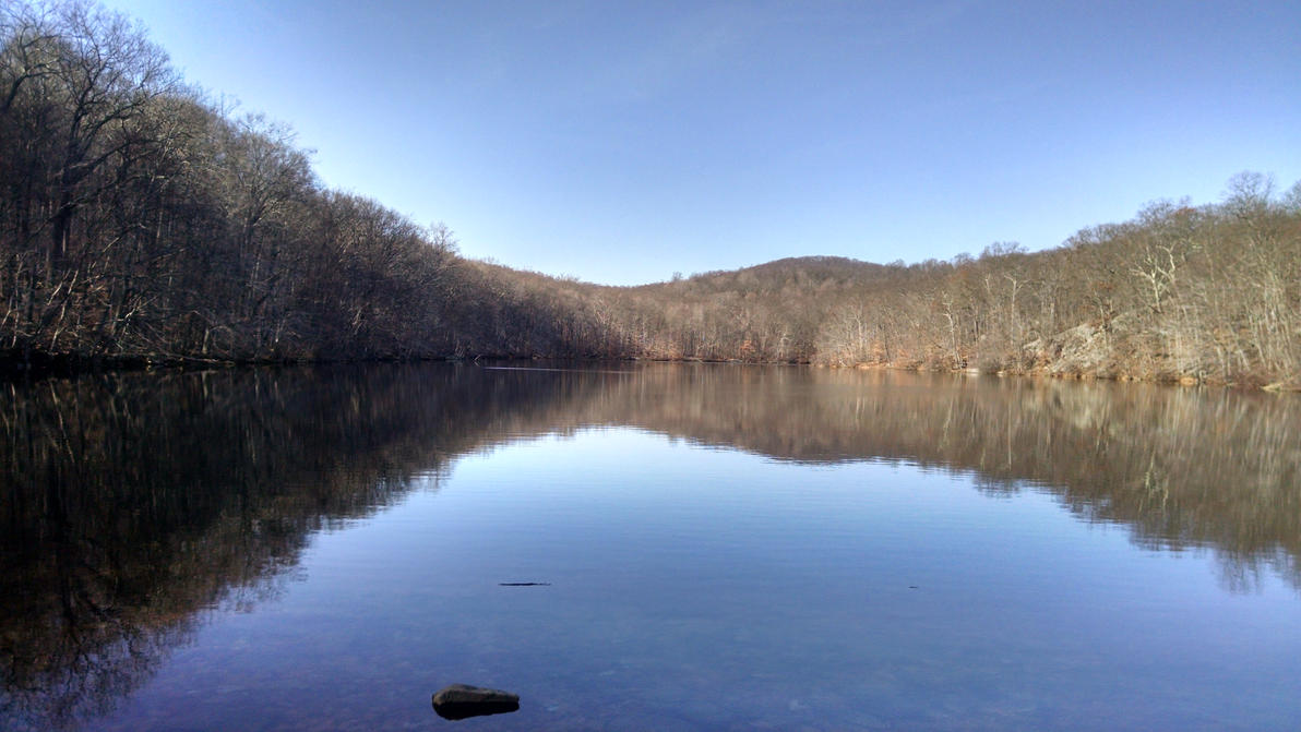 Pond at Ramapo Reservation by hot293wildcat